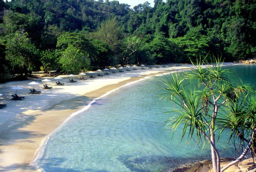 Malaisie S 233 Jour Plage Au Pangkor Laut Resort Voyage