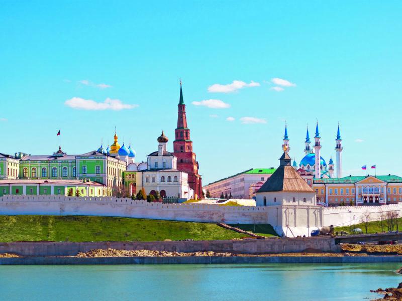 Kazan russe et tatare, symbole d'un multiculturalisme paisible