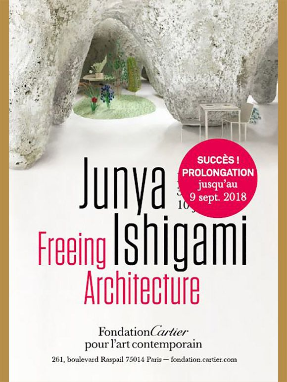 Exposition Junya Ishigami, Freeing Architecture