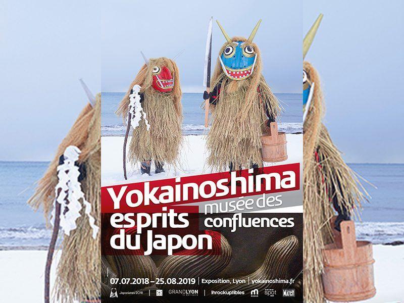 « Yokainoshima, esprits du Japon » au musée des Confluences de LYON