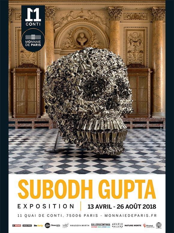 Subodh Gupta à la Monnaie de Paris
