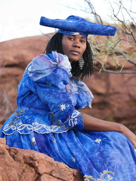 En Namibie, le peuple Herero