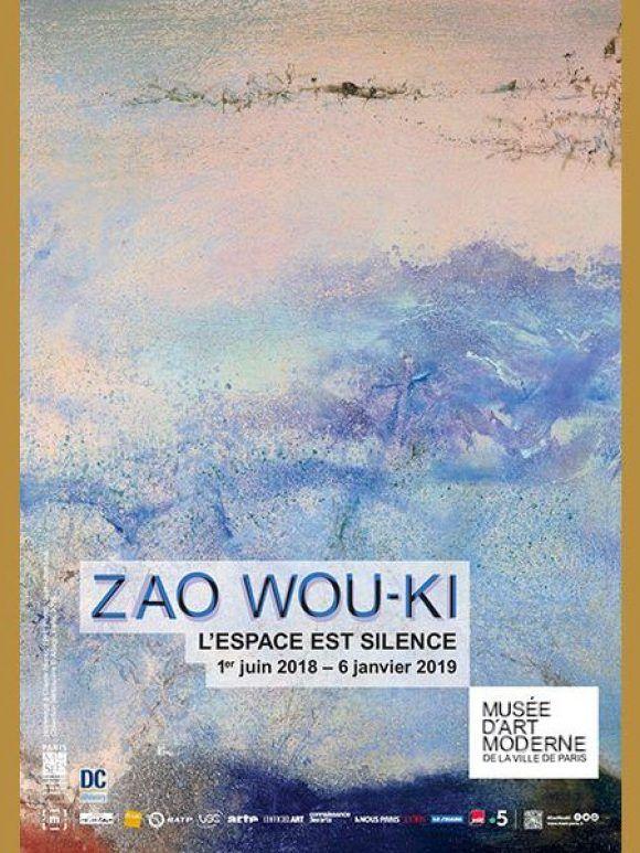 Zao Wou-Ki - L'espace est silence, au Musée d'Art moderne de Paris
