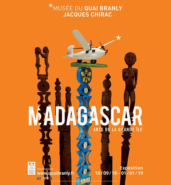 """Exposition """"MADAGASCAR - Arts de la Grande Île"""" au Musée du quai Branly"""