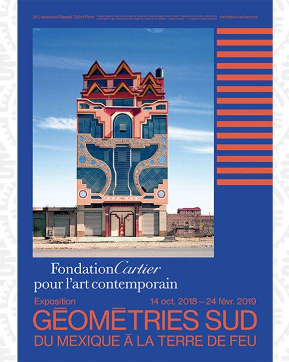 """""""Géométries Sud, du Mexique à la Terre de Feu"""" à La Fondation Cartier pour l'art contemporain"""