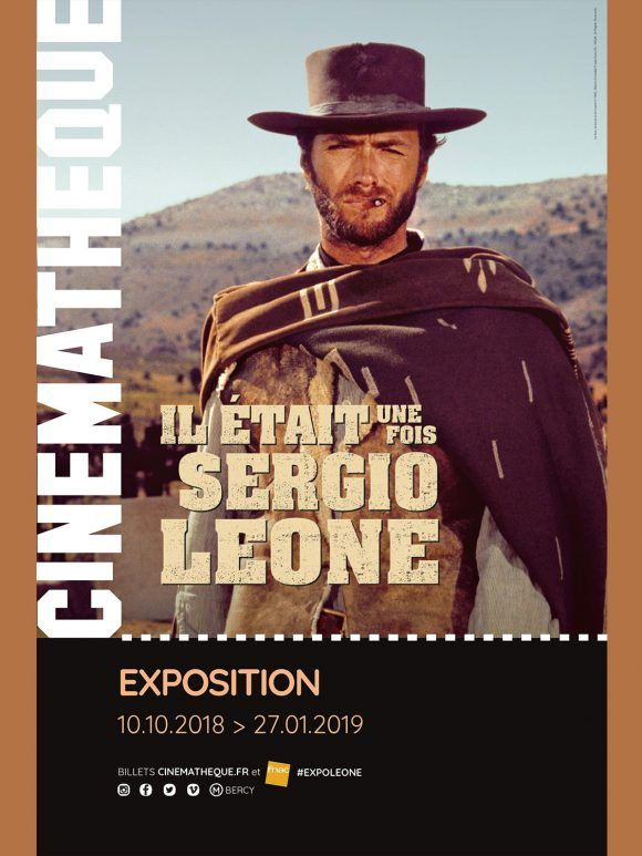 """""""Il était une fois Sergio Leone"""", la nouvelle exposition de La Cinémathèque française"""