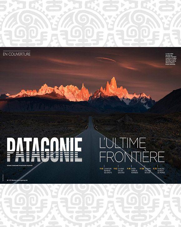 La Patagonie dans le nouveau magazine GEO