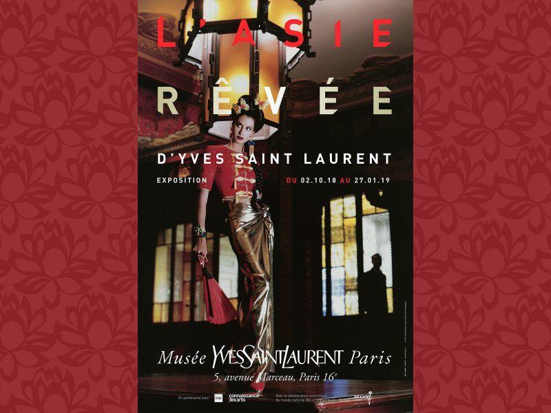 « L'Asie rêvée d'Yves Saint Laurent » l'exposition du Musée Yves Saint Laurent