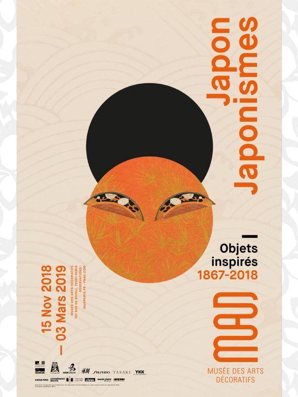 """Exposition """"JAPON-JAPONISMES. OBJETS INSPIRÉS, 1867-2018"""""""