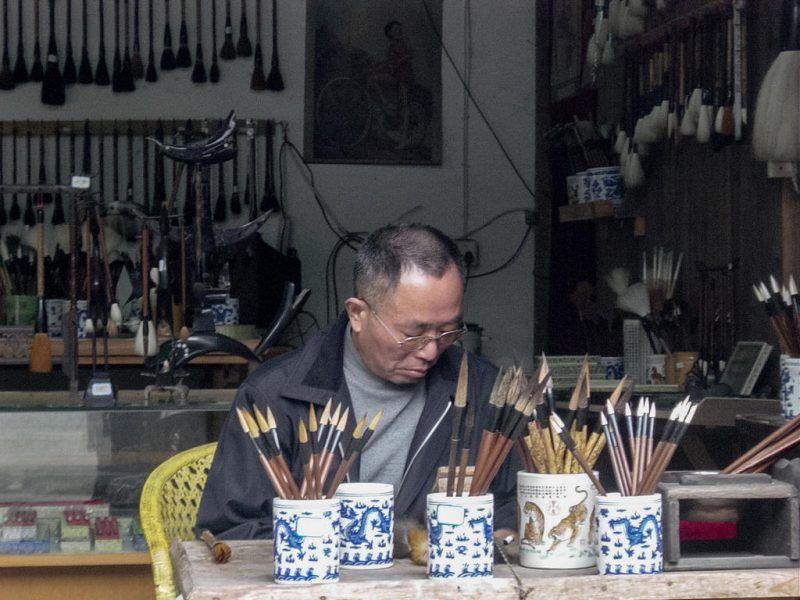 Initiation à la calligraphie chinoise