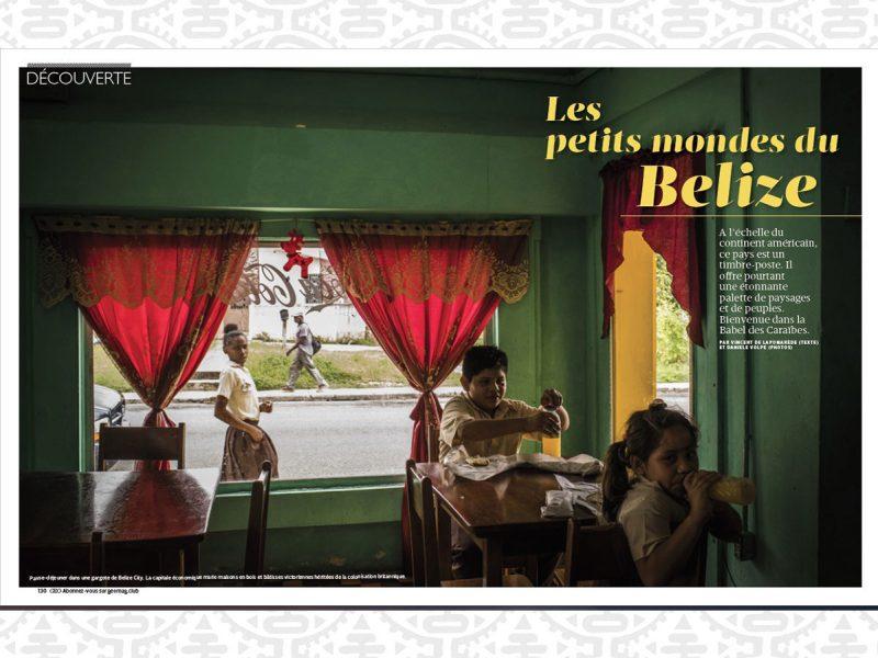 Les petits mondes du Belize avec le magazine GEO